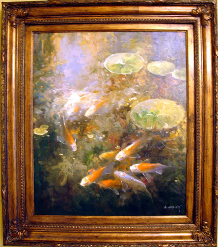 Koi Pond II by Harvey