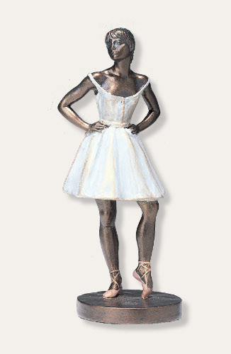 Degas Rose Dancer Statue