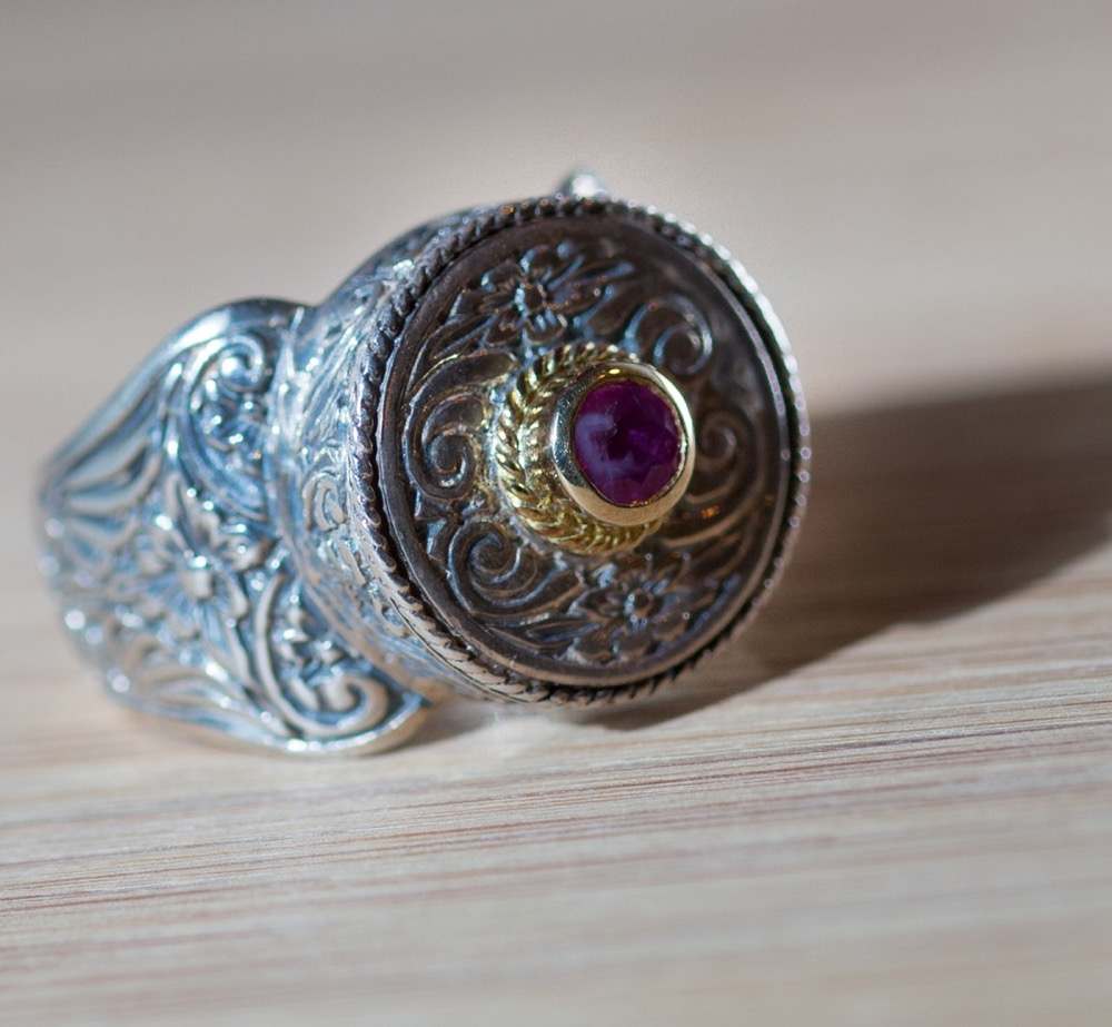 Ruby Ring by Konstantino
